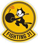 US Navy Fighter Squadron 31 Decal / Sticker