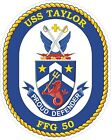 USS Taylor Decal / Sticker