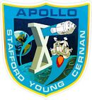 Apollo 10 Insignia Decals / Stickers