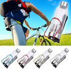 Sports Cycling Bike Bicycle Aluminum Alloy Water Drink Bottle Holder Cage F5