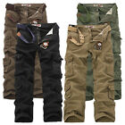 Fashion Cargo Camo Combat Military Mens Trousers Camouflage Pants Casual UK28-46
