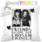 ❤ PERSONALISED BEST FRIENDS FAMILY CUSHION Valentines Christmas Birthday Gift ❤