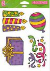 *ASSORTED ACCENTS* Large Sheet O'SCRAP DIE-CUTS Baby Holidays Family Ballet