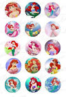 """15 Disney Pre-cut 1"""" Graphic Circles Great for Hair Bows Zipper Pulls or Jewelry"""