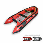 Seamax New Heavy Duty Ocean380 12.5ft Inflatable Boat, Aluminum Floor