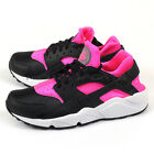 Nike Wmns Air Huarache Run Black/Pink Blast-White Classic Running 634835-604