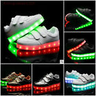 Children 7Colors Unisex LED Light Luminous Kids Boys Girls Sneaker Casual Shoes
