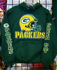 GREEN BAY PACKERS-Forest Green Sweatshirt/HOODIE S, M, L, XL, 2XL, 3XL, 4XL, 5XL