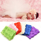 1 Pcs Baby Photography Photo Props 3D Rose Flower Backdrop Beanbag Blanket EWU