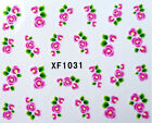 Popular Nail Art Sticker Water Transfer DIY Decoration Decal Tips