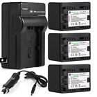 Decoded BP-727 Battery + Charger For Canon VIXIA HF R300 R400 R500 R700 R60 R42