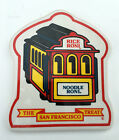 Rice A Roni Noodle Roni Cable Car Ceramic Trivet / Wall Hanging Vintage EUC  USA