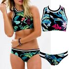 Sexy Women Push Up Padded Top Bikini Set Beachwear Swimwear Swimsuit Bathing FO