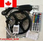 AC DC 16ft 5M 300LED SMD 3528/5050/5630 RGB/White Flexible Strip Light Remote <br/> ***BUY CANADIAN SHIPS FROM CANADA***