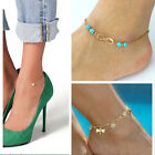 Women Sexy Gold Chain Anklet Bracelet Barefoot Sandal Beach Foot Jewelry Gift
