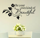Removable Art Vinyl Wall Sticker Decal Mural Home Decor Quote Word Poem DIY