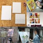 Round/Square/Rectangle Blank Panel Canvas Cotton Acrylic Artist Oil Painting