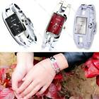 Elegant Stainless Steel Bracelet Bangle Womens Girls New Waterproof Wrist Watch