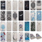 Transparent Thin Soft Silicone TPU Printed Cover Case For iPhone 5 5S 6 6 7 Plus