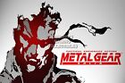 RGC Huge Poster - Metal Gear Solid Snake PS1 PS2 PS3 - MGS103