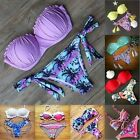 Quality Women Sexy Brazilian Underwired Push Up Bikini Padded Bathing Swimsuit