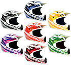 THH TX10 Adults MX Motocross Off Road Enduro ATV Full Face Helmet - Clearance