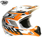 THH TX12 Adults MX Motocross Off Road Enduro Quad Full Face Helmet - Clearance