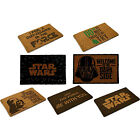 Star Wars Door Mat / Doormat Hard Wearing Fibre Non Slip Base - New And Official