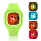 New Fashion Women Waterproof Sports Watch LED Digital Silicone Band Wrist Watch