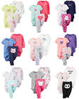 New Carters Newborn 3 6 9 12 18 24 Months Bodysuit Pants Set Baby Girl Clothes