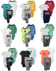 New Carters Newborn 3 6 9 12 18 24 Months Baby Boy Outfit Bodysuit Set Clothes