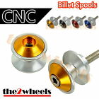 Aluminium Savage Swingarm Spools Sliders M8 / 8mm for BMW S1000RR / S1000R / HP4