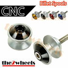 Aluminium Savage Swingarm Spools Sliders M8 8mm for Triumph Tiger 800 /XC 2010+