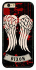 Walking Dead Daryl Dixon Wings Crossbow Hard Phone Case Cover Fits For Samsung