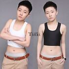 New Casual Breathable Buckle Short Chest Breast Binder Trans Lesbian Corset TXWD
