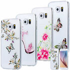SLIM TPU CASE STRASS GLITTER TRANSPARENT COVER GEL SKIN CLEAR SAMSUNG