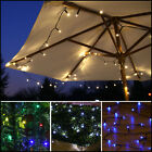 SOLAR POWERED OUTDOOR GARDEN PATIO DECKING WEDDING PARTY FAIRY STRING LED LIGHTS