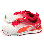Puma Speed 300 Ignite Wn White-Rose Red-Fluo Peach Lightweight Running 188115 01