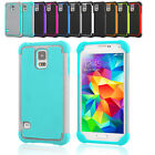 Protective Hybrid Rubber Heavy Duty Hard Case Cover For Samsung Galaxy S5