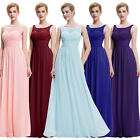 New Women's Formal Chiffon Eveing Party Cocktail Dress Long Bridesmaid Prom Gown