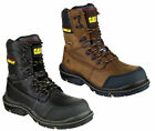Mens Caterpillar Doffer Composite Toe/Midsole S3 Safety Work Boots Sizes 7 to 12