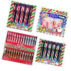 New Christmas Sweets 10/12/24/54 Peppermint Candy Canes Tree Decoration Gift
