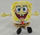 SPONGEBOB AND PAGTRICK  - TY BEANIE BABIES - 8 INCHES - NEW