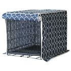 Molly Mutt Blue Romeo Juliet CrateKennel Cover Washable Cotton S/XL- Ship FREE!