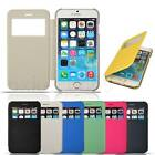 Ultra Thin S-View Window Screen Protect Flip Case Cover For iPhone 6 Plus 5.5