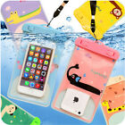 """NEW Waterproof Submersible Bag Case iPhone 6/6s 6+ 5s SE Plus Samsung up to 5.5"""""""