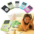 Music Media Mini Mp3 Player Lcd Screen Clip Support Micro Sd Tf Card 32gb