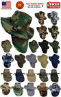 Boonie Hat Fishing Army Military Hiking Snap Brim Neck Cover Bucket Sun Flap Cap