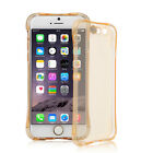 Transparent Rubber TPU Plastic Clear Back Cover Phone Case For iPhone 6 6s 4.7""