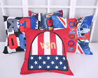 "15"" Home Decorative Throw Pillow Case  Cushion Cover Suede Seat Sofa Handmade"